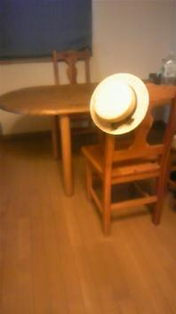 アンの帽子が